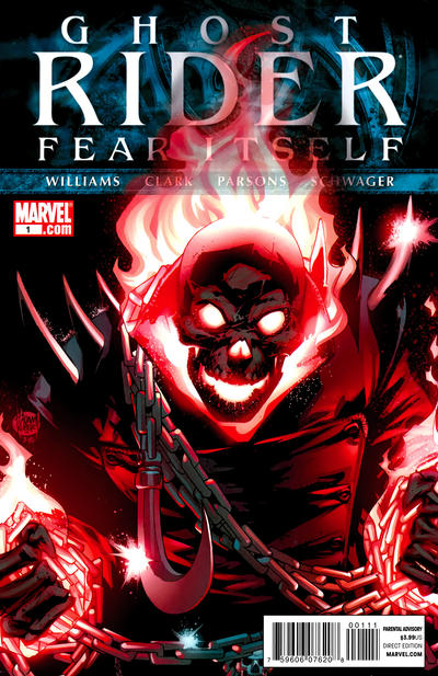 Cover for Ghost Rider (Marvel, 2011 series) #1