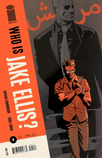 Cover for Who Is Jake Ellis? (Image, 2011 series) #4