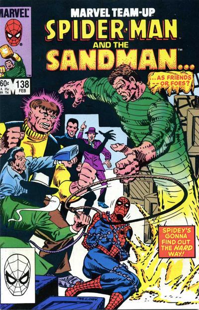 Cover for Marvel Team-Up (Marvel, 1972 series) #138 [Direct]