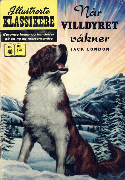Cover for Illustrerte Klassikere [Classics Illustrated] (Illustrerte Klassikere / Williams Forlag, 1957 series) #40 - Når villdyret våkner [2. opplag]
