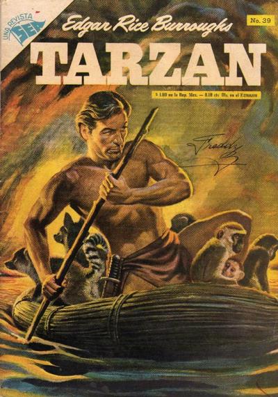 Cover for Tarzán (Editorial Novaro, 1951 series) #39