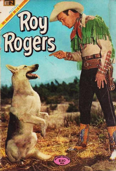Cover for Roy Rogers (Editorial Novaro, 1952 series) #203