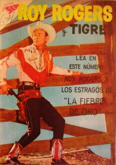 Cover for Roy Rogers (Editorial Novaro, 1952 series) #71