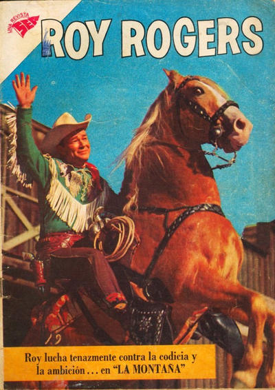 Cover for Roy Rogers (Editorial Novaro, 1952 series) #89