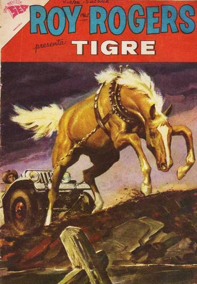 Cover for Roy Rogers (Editorial Novaro, 1952 series) #116