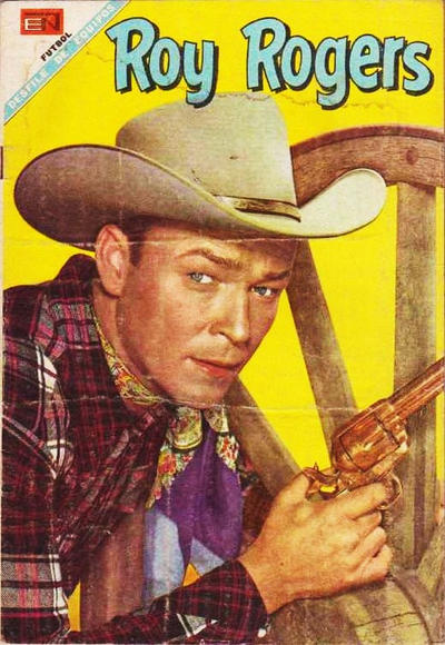 Cover for Roy Rogers (Editorial Novaro, 1952 series) #188