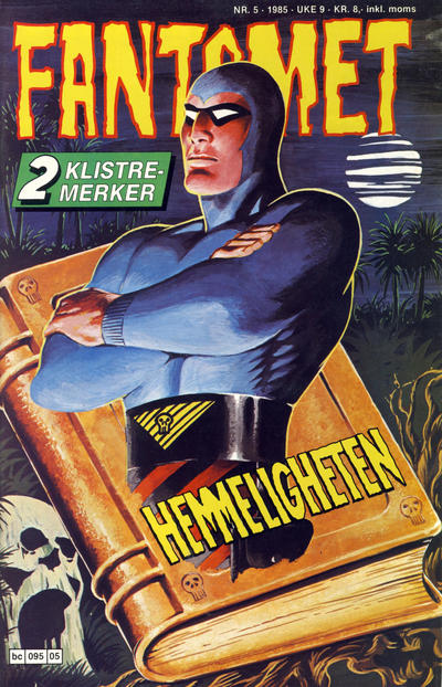 Cover for Fantomet (Semic, 1976 series) #5/1985