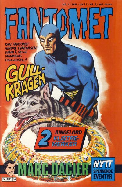Cover for Fantomet (Semic, 1976 series) #4/1985