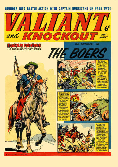 Cover for Valiant and Knockout (IPC, 1963 series) #19 October 1963