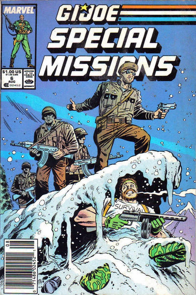 Cover for G.I. Joe Special Missions (Marvel, 1986 series) #6 [Newsstand Edition]
