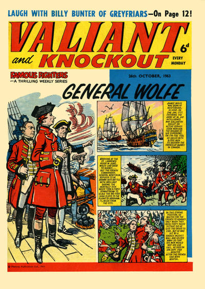 Cover for Valiant and Knockout (IPC, 1963 series) #26 October 1963