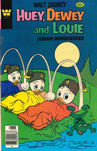 Cover for Walt Disney Huey, Dewey and Louie Junior Woodchucks (Western, 1966 series) #56 [Whitman Edition]