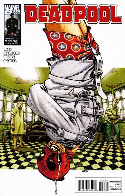 Cover for Deadpool (Marvel, 2008 series) #40
