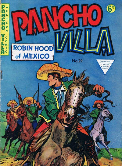 Cover for Pancho Villa Western Comic (L. Miller & Son, 1954 series) #29