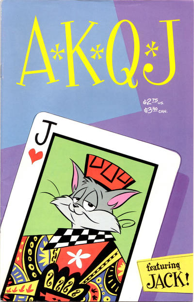 Cover for A*K*Q*J (Fantagraphics, 1991 series) #1