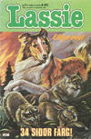 Cover for Lassie (Semic, 1980 series) #1/1982
