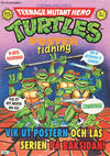 Cover for Teenage Mutant Hero Turtles postertidning (Atlantic Förlags AB; Pandora Press, 1991 series) #1/1991