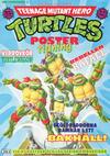 Cover for Teenage Mutant Hero Turtles postertidning (Atlantic Förlags AB; Pandora Press, 1991 series) #4/1991
