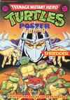 Cover for Teenage Mutant Hero Turtles postertidning (Atlantic Förlags AB; Pandora Press, 1991 series) #6/1991