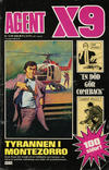 Cover for Agent X9 (Semic, 1971 series) #10/1984