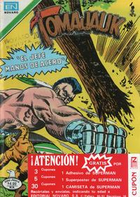 Cover Thumbnail for Tomajauk (Editorial Novaro, 1955 series) #295
