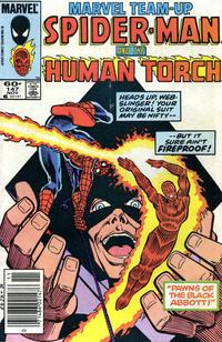 Cover for Marvel Team-Up (Marvel, 1972 series) #147 [Direct]