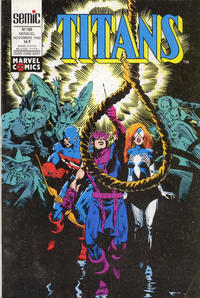 Cover Thumbnail for Titans (Semic S.A., 1989 series) #166