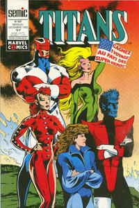 Cover Thumbnail for Titans (Semic S.A., 1989 series) #167