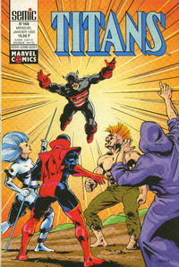 Cover Thumbnail for Titans (Semic S.A., 1989 series) #168