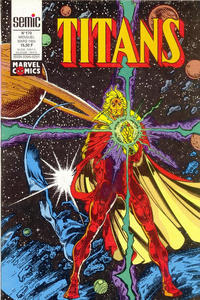 Cover Thumbnail for Titans (Semic S.A., 1989 series) #170