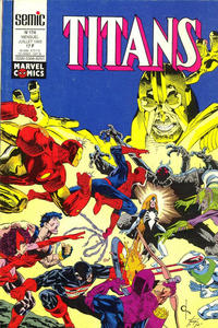 Cover Thumbnail for Titans (Semic S.A., 1989 series) #174