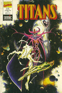 Cover Thumbnail for Titans (Semic S.A., 1989 series) #180