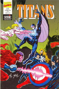 Cover Thumbnail for Titans (Semic S.A., 1989 series) #181