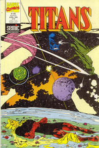 Cover Thumbnail for Titans (Semic S.A., 1989 series) #183