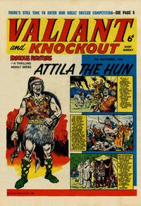 Cover Thumbnail for Valiant and Knockout (IPC, 1963 series) #5 October 1963