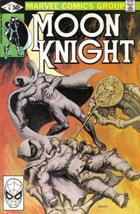 Cover for Moon Knight (Marvel, 1980 series) #6 [Direct]