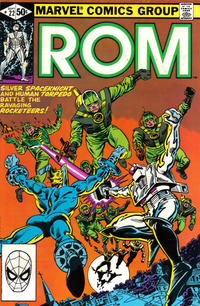 Cover for ROM (Marvel, 1979 series) #22 [Direct Edition]