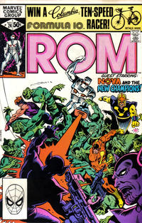 Cover Thumbnail for ROM (Marvel, 1979 series) #24 [Direct Edition]