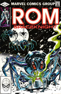 Cover Thumbnail for ROM (Marvel, 1979 series) #30 [Direct Edition]