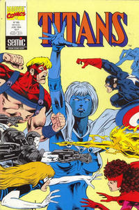 Cover Thumbnail for Titans (Semic S.A., 1989 series) #185
