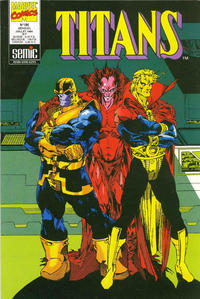 Cover Thumbnail for Titans (Semic S.A., 1989 series) #186