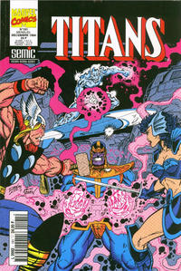 Cover Thumbnail for Titans (Semic S.A., 1989 series) #191