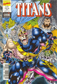 Cover Thumbnail for Titans (Semic S.A., 1989 series) #195
