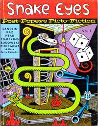 Cover Thumbnail for Snake Eyes (Fantagraphics, 1991 series) #1