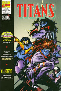 Cover Thumbnail for Titans (Semic S.A., 1989 series) #210
