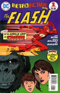 Cover for DC Retroactive: Flash - The '70s (DC, 2011 series) #1