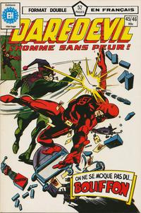 Cover Thumbnail for Daredevil l'homme sans peur (Editions Héritage, 1979 series) #45/46