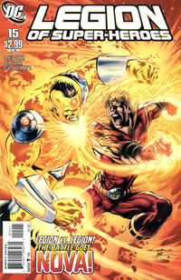 Cover Thumbnail for Legion of Super-Heroes (DC, 2010 series) #15 [Direct Sales]
