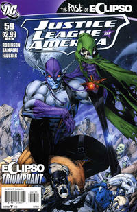 Cover Thumbnail for Justice League of America (DC, 2006 series) #59 [Direct]