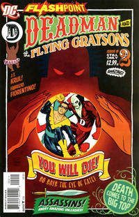 Cover Thumbnail for Flashpoint: Deadman and the Flying Graysons (DC, 2011 series) #2